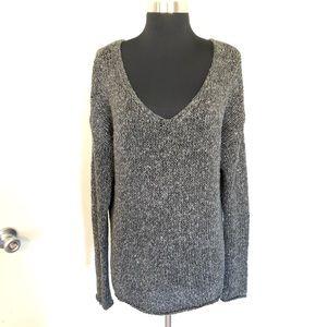 Vince VNeck Longer Length Knit Sweater